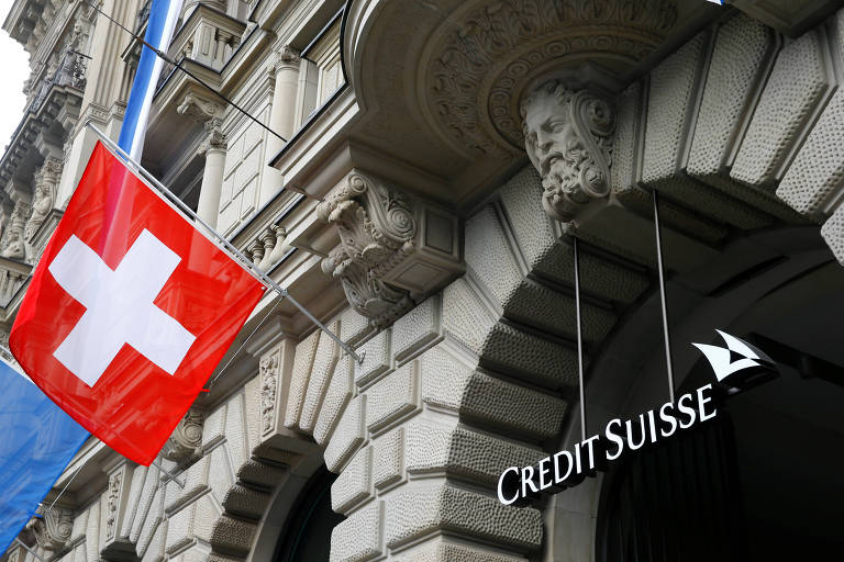 Fachada do Credit Suisse