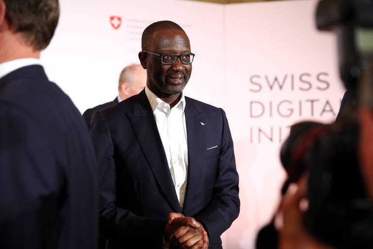 Tidjane Thiam, presidente do Credit Suisse