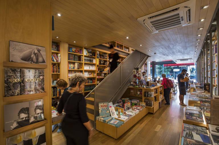 Pequenas livrarias em SP
