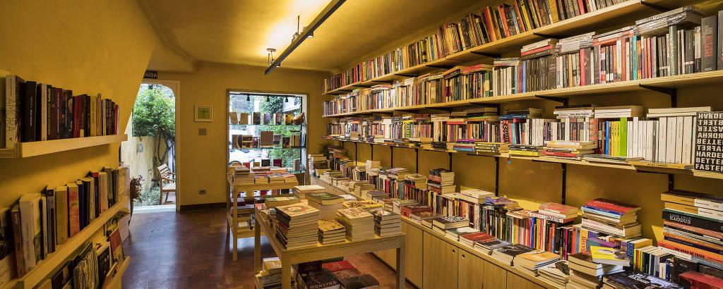 Interior de livraria