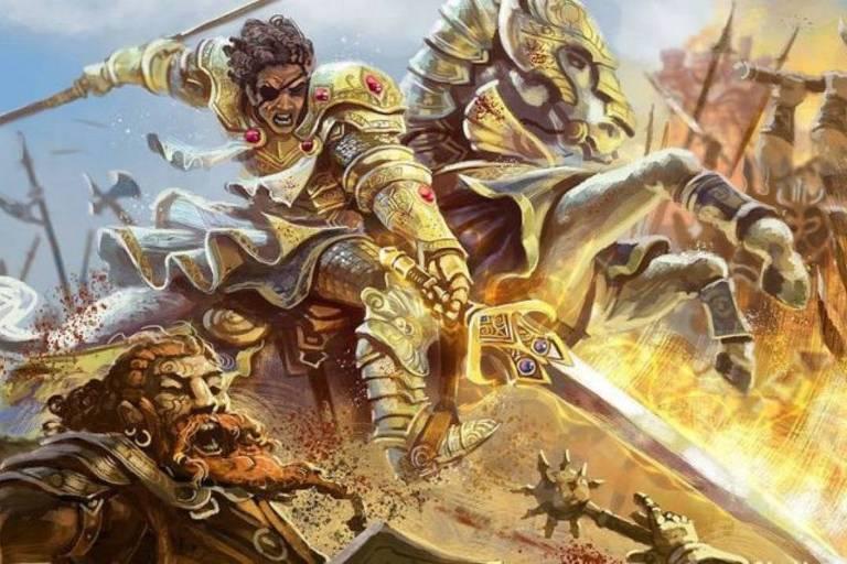 """Imagem de """"Tormenta 20"""", RPG brasileiro que arrecadou R$ 2 milhões em financiamento coletivo"""