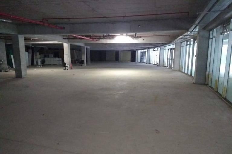 Espaço no Allianz Parque destinado à construção do memorial do Palmeiras