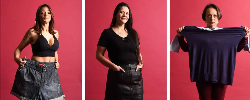Nilma Junqueira, 38; Kátia Ventura Nunes, 32; e Magali Marques de Paula, 40