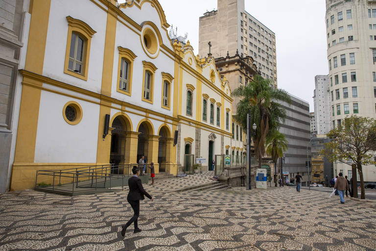 Igreja de São Francisco, no largo de São Francisco, região central de São Paulo