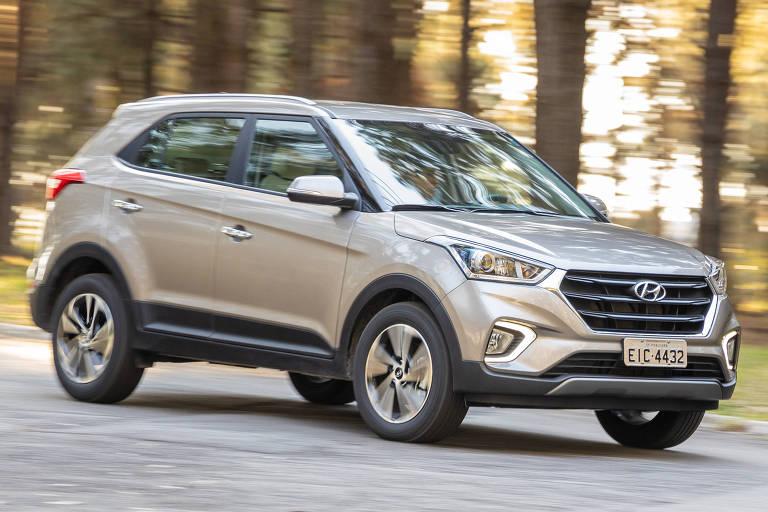Hyundai Creta e Honda HR-V entre o menor preço e o menor consumo
