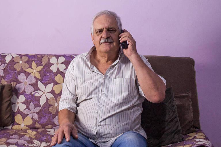 Antonio Bolognesi, 63 anos, deu entrada no seu pedido de aposentadoria em março e não consegue saber com o INSS se ele será aceito; ele afirma já ter completado os 35 anos exigidos pelo benefício