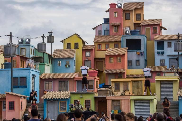 Espaço Favela no festival Rock in Rio