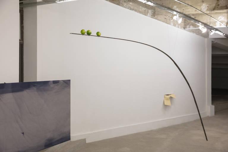 Vista de 'Avalanche', exposição que a alemã Katinka Bock apresenta no Pivô, no Copan
