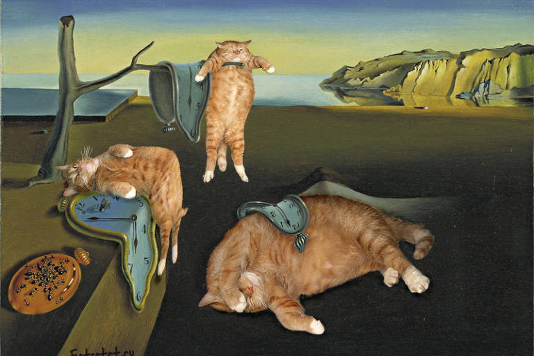 Zarathustra em 'A Persistência da Memória', de Salvador Dalí