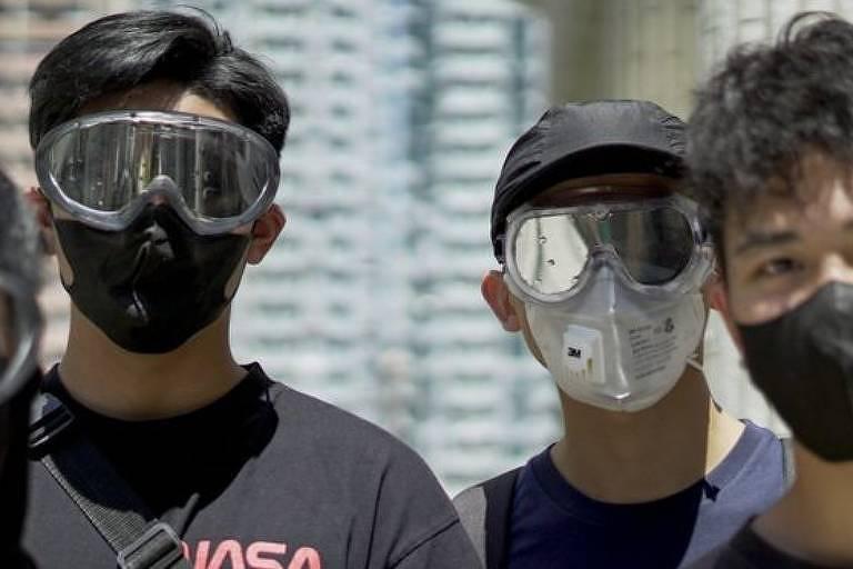 1º de outubro marcam as comemorações da revolução comunista que deu origem à República Popular da China, mas jovens de Hong Kong planejam protesto