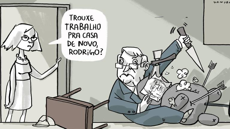 Charge de João Montanaro 30/9/2019