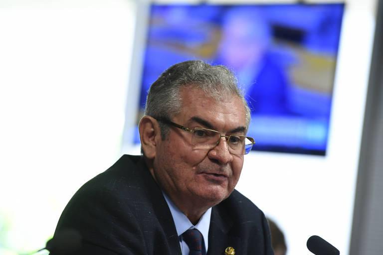 O senador Angelo Coronel (PSD-BA), que preside a CPMI das Fake News
