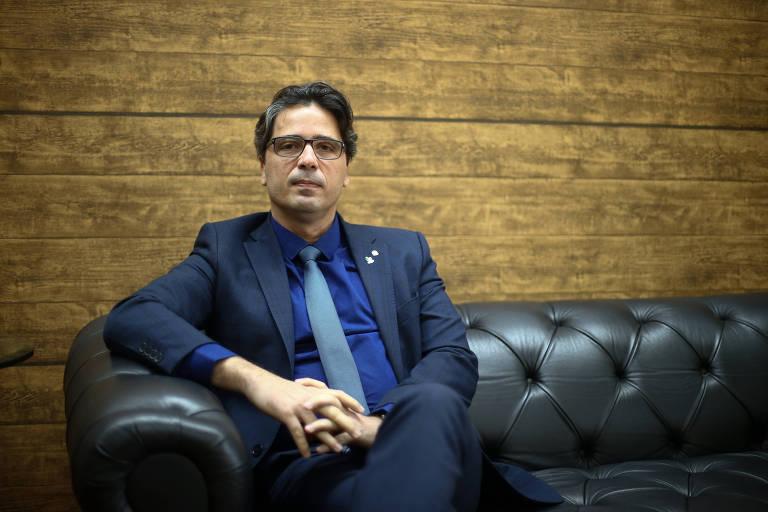 O presidente da ANPR (Associação Nacional dos Procuradores da República), Fábio George Cruz da Nóbrega