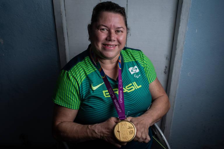 Beth Gomes, recordista paraolímpica