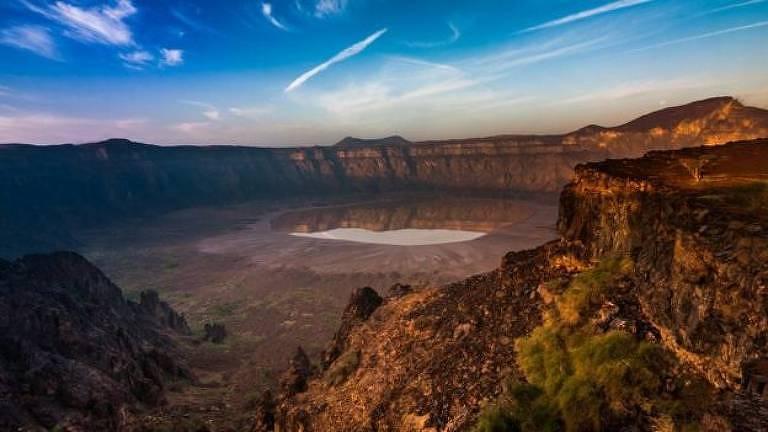 Cratera de vulcão