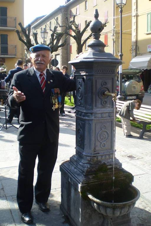 Ex-combatente da 2a Guerra Mundial, Antônio de Pádua Inham