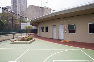 Ginásio do Clube Athletico Paulistano, em São Paulo