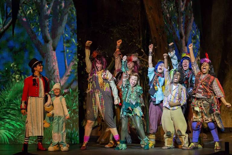 Peter Pan, o Musical reestreia em SP