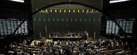 BRASILIA, DF,  BRASIL,  24-09-2019, 18h00: Plenário da câmara dos deputados durante sessão do Congresso Nacional, sob a presidência do senador Davi Alcolumbre (DEM-AP), para análise dos vetos presidenciais. (Foto: Pedro Ladeira/Folhapress, PODER)