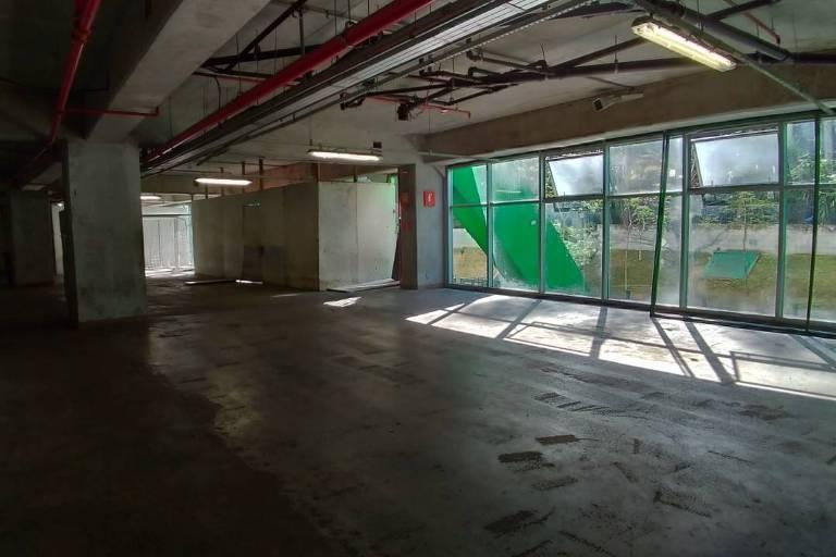 Espaço no Allianz Parque reservado para a construção do memorial do Palmeiras