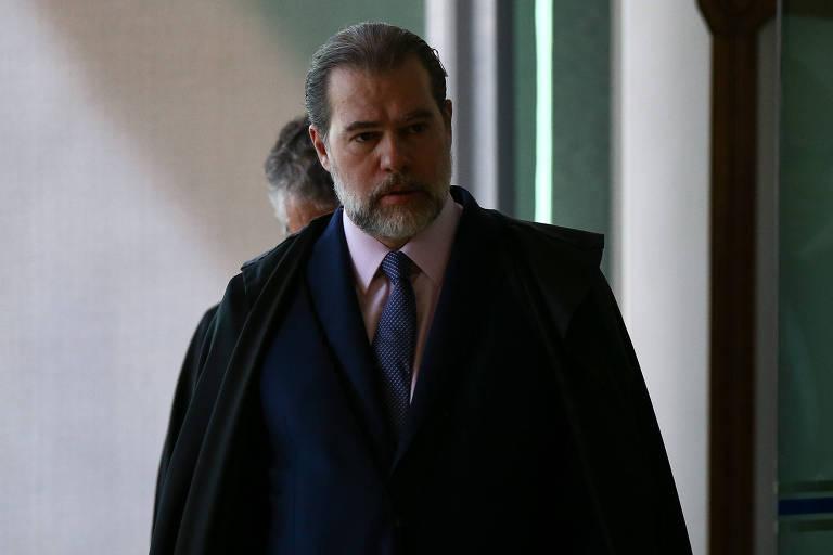 O ministro Dias Toffoli, atual presidente do STF