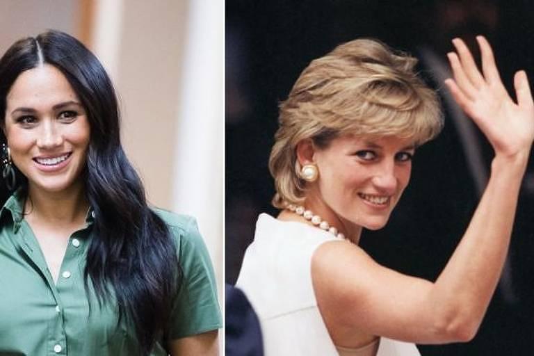 Meghan e Diana foram comparadas pelo príncipe Harry
