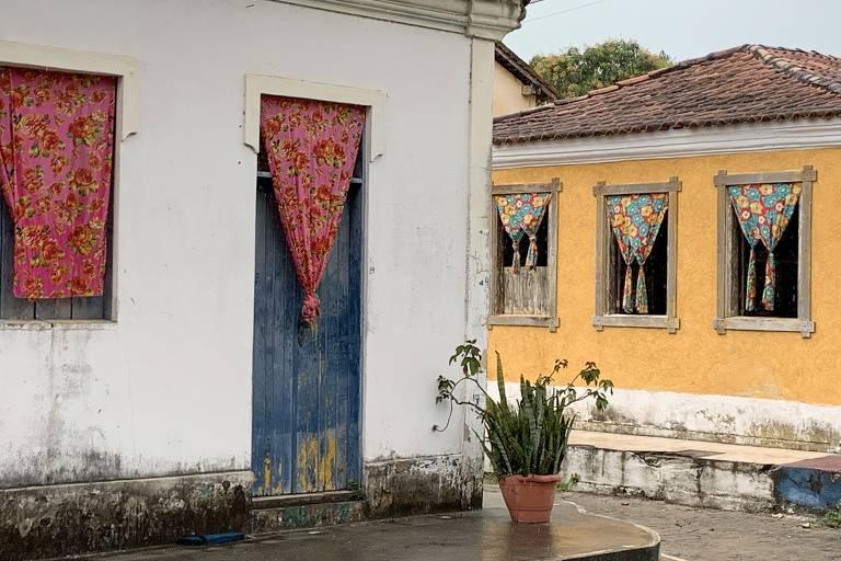 Vila de Santo André, na Bahia
