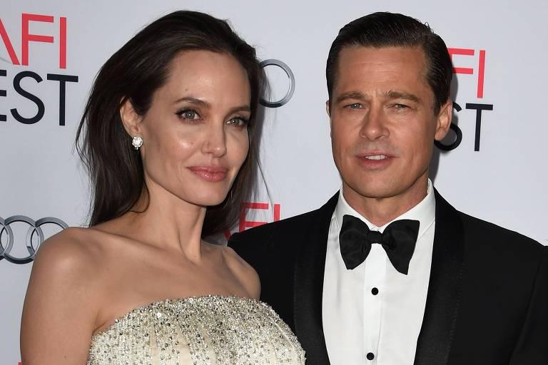 Angelina Jolie nunca mais vai casar e só subiu ao altar com Brad Pitt por pressão, diz site