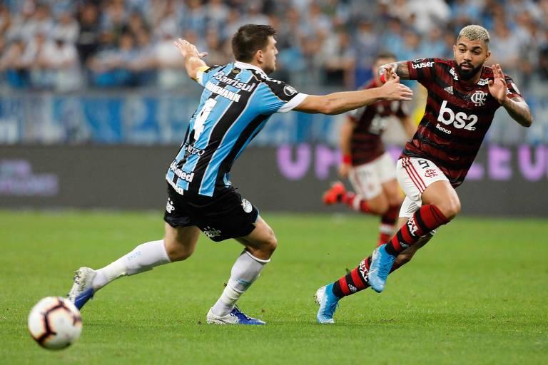 Grêmio x Flamengo - semifinais da Libertadores