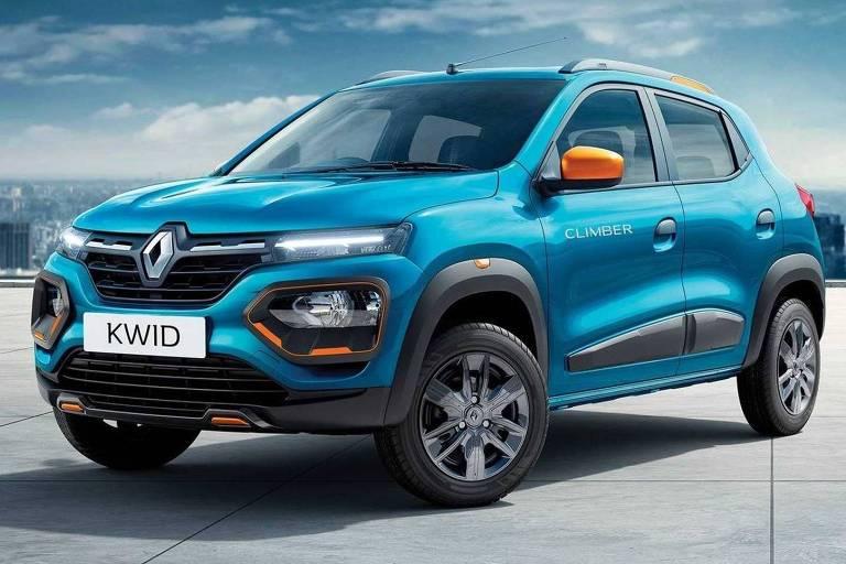 Projetado no Brasil, novo Renault Kwid é mostrado na Índia
