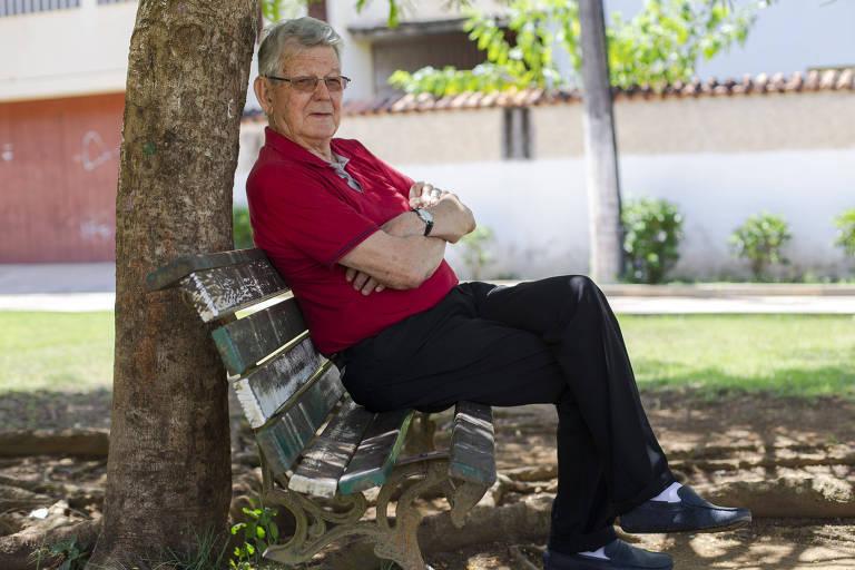 Dom Erwin Kräutler, bispo emérito do Xingu, em sua residência paroquial em Altamira (PA)
