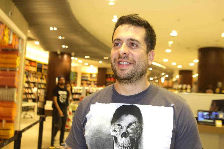 O apresentador Maurício Meirelles