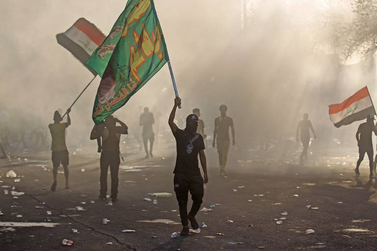 Protestos deixam 28 mortos no Iraque