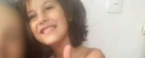 A menina Raíssa Eloá Caparelli Dadona, de 9 anos, foi encontrada morta na tarde deste domingo (29) no Parque Anhanguera, na região de Perus, Zona Norte de São Paulo, após desaparecer em uma festa em um Centro Educacional Unificado (CEU) municipal na região. Foto TV Globo/Reproducao