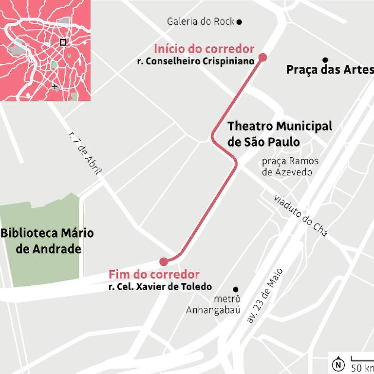 Confira mapa do corredor literário na Virada do Livro