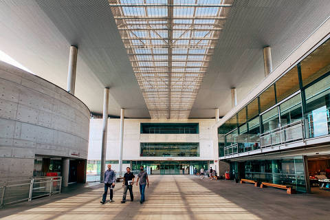 São Paulo, SP, Brasil, 27-09-2019: Biblioteca Brasiliana Guita e José Mindlin, Campus USP-SP.  Caderno RUF -Ranking Universitário Folha.  (foto Gabriel Cabral)