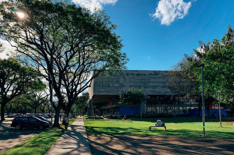 Prédio da FAU (Faculdade de Arquitetura e Urbanismo) da Usp