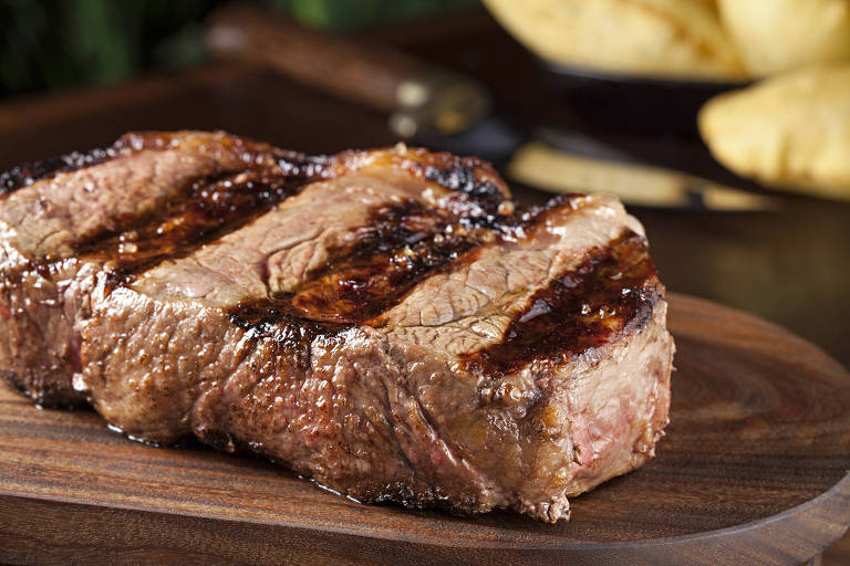Bife de chorizo dos restaurantes Rubaiyat; corte é uma das sugestões da Figueira Rubaiyat na Restaurant Week