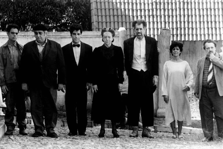 """Personagens mortos-vivos da minissérie """"Incidente em Antares"""", exibida em 1994 pela Globo, inspirada no romance homônimo de Erico Verissimo"""