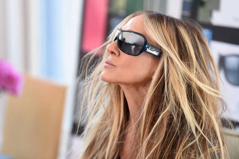 Sarah Jessica Parker lança linha de óculos com a marca Sunglass Hut em Nova York