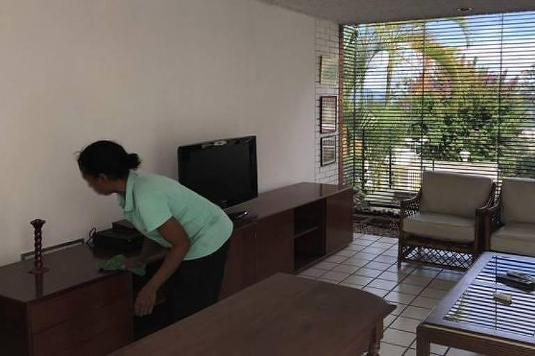 Isabel ganha entre US$ 5 e US$ 7 por mês, mais que o dobro do salário mínimo, de US$ 2
