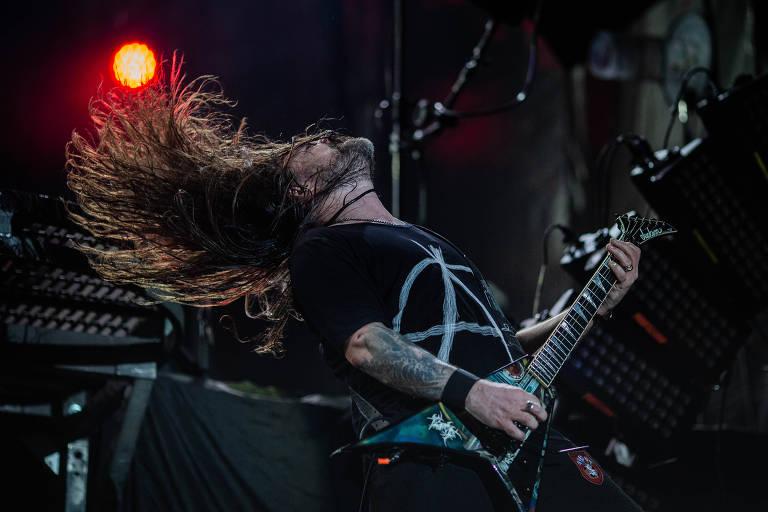 Show da banda Sepultura no Rock in Rio
