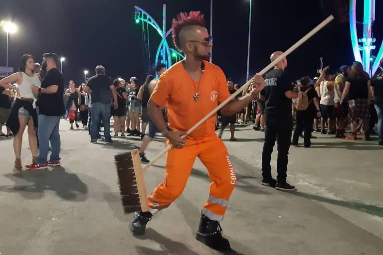 Gari roqueiro vai ao dia do metal no Rock in Rio 2019