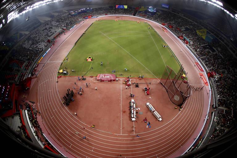 'Qatarização' do esporte chega ao ápice com Mundial de atletismo