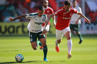 Brasileiro championship - Internacional v Palmeiras