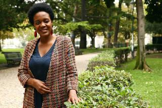 Entrevista a Joacine Katar Moreira, candidata pelo partido Livre no Campos Martires da Pátria.
