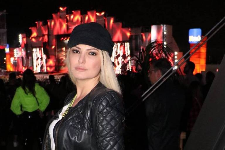 Antônia Fontenelle no festival Rock in Rio 2019