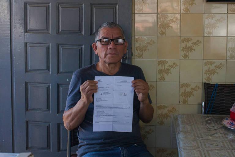 Guido Domingo Flores Figueroa aguarda uma resposta do INSS sobre seu pedido para receber o Benefício do Idoso
