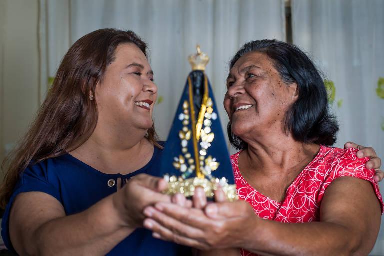 Conheça Elaine Aparecida e Glória Maria, devotas de Nossa Senhora Aparecida