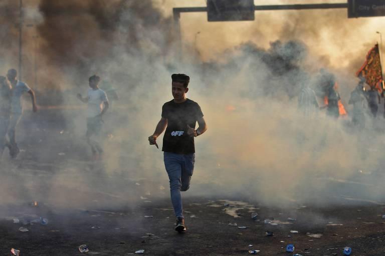 Protestos contra governo registram mais de 100 mortos e 6 mil feridos no Iraque